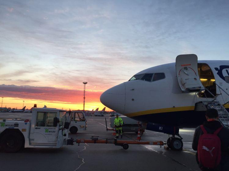 Abflug nach Rom
