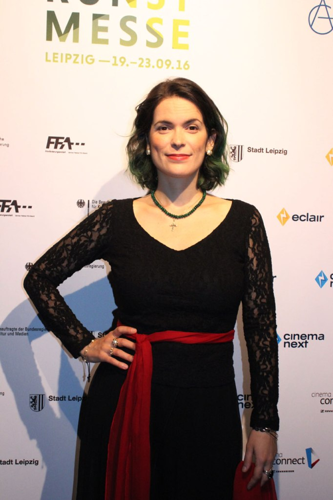 """Cristina Pato, Gaita-Musikerin aus dem Dokumentarfilm """"The Music of Strangers"""""""