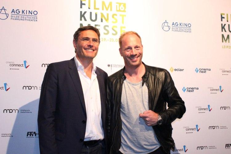 Schauspieler Johann von Bülow (rechts) aus dem Film FRANTZ