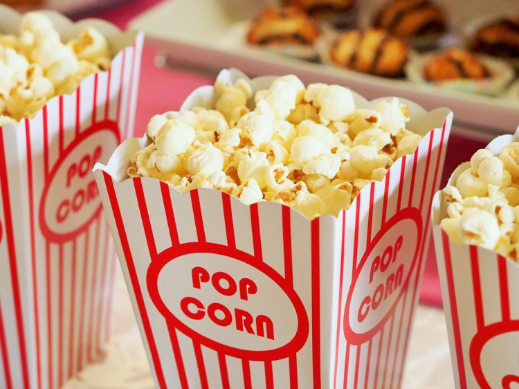 Popcorn - Mein Kinojahr 2016