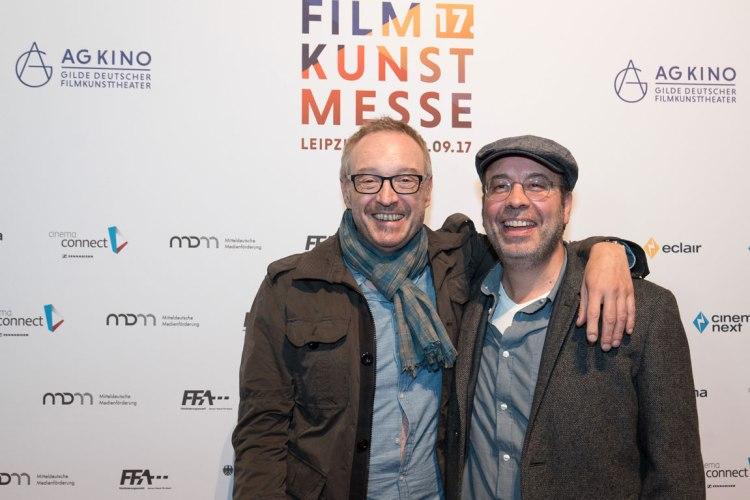 Josef Hader und Miguel Alexandre / Foto: Filmkunstmesse/UF