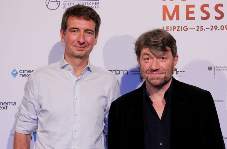 "Tobias Lehmann (Alamode Filmverleih) und Philippe Bober (Produzent) von ""The Square"""