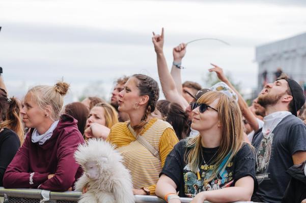 Beim Anschmachten :D / Highfield Festival / Foto: Nico Ackermeier
