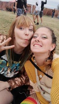 mit Edyta / Highfield Festival