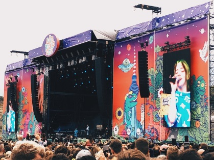 Lollapalooza Berlin: Billie Ellish
